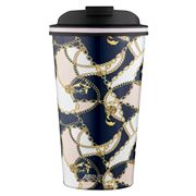 Avanti - Go Cup Baroque Navy/Pink 410ml