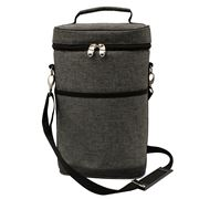 Karlstert - Premium 2 Bottle Carrier Charcoal