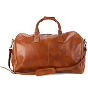 Manufactus - Emporio Garment Leather Bag Tobacco Large