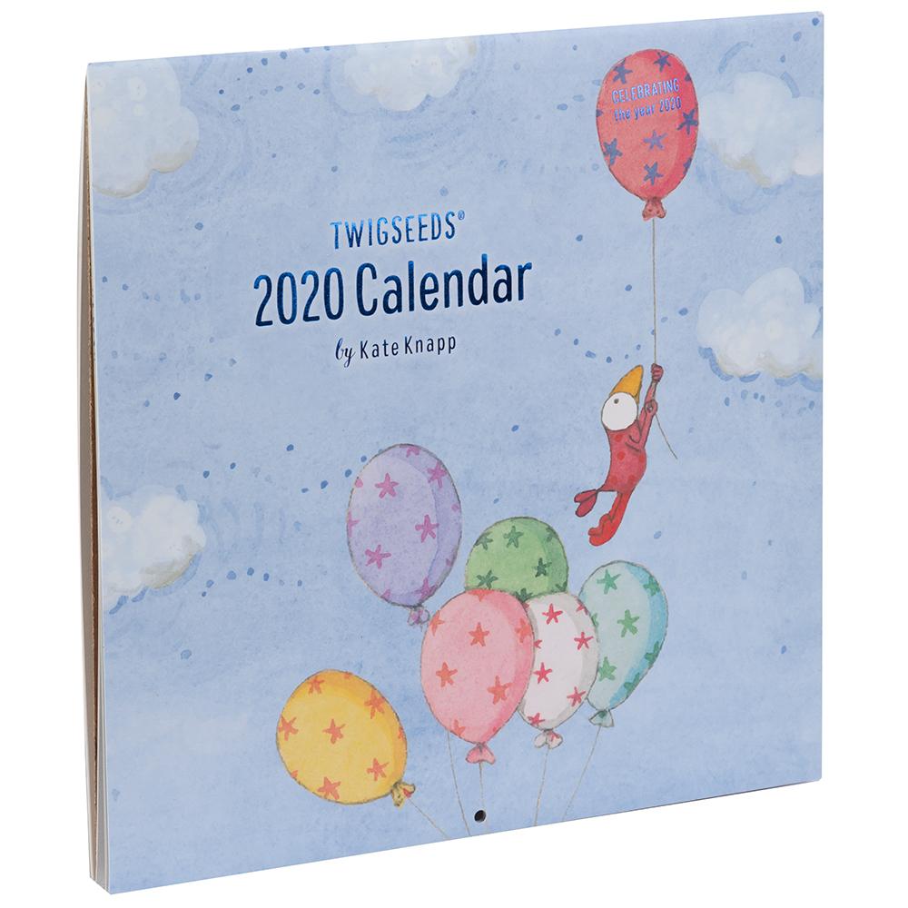 2020 Australian Icons Calendar For Australiana Souvenirs: Twigseeds 2020 Calendar By Kate Knapp
