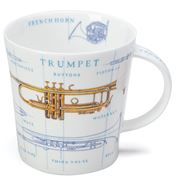 Dunoon - Cairngorm  Mug Music Icons Trumpet