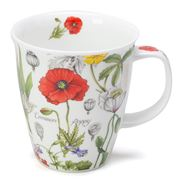 Dunoon - Nevis Mug Floral Diary Poppy