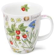 Dunoon - Nevis Mug Floral Diary Strawberry