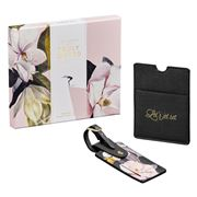 Ted Baker - Passport Holder & Luggage TagSet 2pce