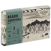 Gentlemen's Hardware - Beard Survival Kit 3pce