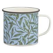 V & A -  Willow Bough Enamel Mug 500ml