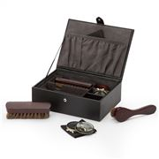 Wolf - Blake Shoe Shine Kit Black & Grey 9pce