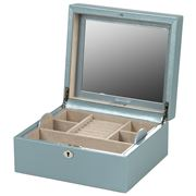 Wolf - London Square Jewellery Box Ice