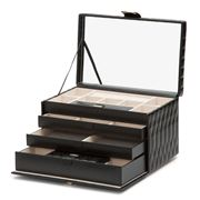 Wolf - Caroline Jewellery Case Large Black