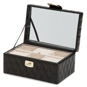 Wolf - Caroline Jewellery Case Small Black