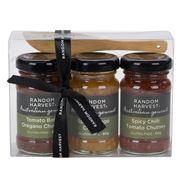 Random Harvest - Australian Mini Chutney Gift Pack 4pce