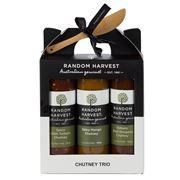 Random Harvest -  Chutney Trio Gift Pack 4pce