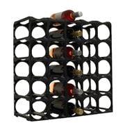 Stakrax - Modular Wine Storage Kit 30 Bottle Black