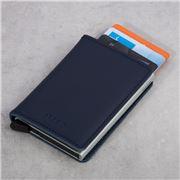 Secrid - Original Navy Leather Slim Wallet