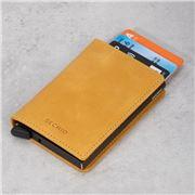 Secrid - Vintage Ochre/Brown Leather Slim Wallet