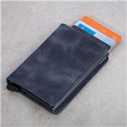 Secrid - Vintage Blue Leather Slim Wallet