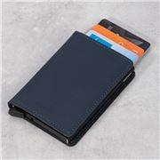 Secrid - Matte Night Blue Leather Slim Wallet
