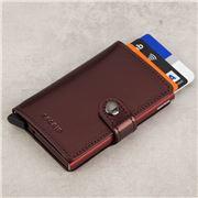 Secrid - Metallic Moro Leather Mini Wallet