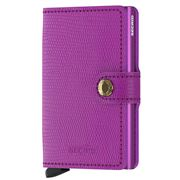 Secrid - Rango Violet Leather Mini Wallet