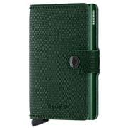 Secrid - Rango Green Leather Mini Wallet