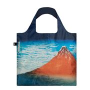 LOQI - Museum Collection Hokusai Red Fuji Reusable Bag