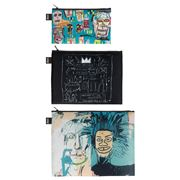 LOQI - Jean Michel Basquiat Zip Pocket Set 3pce