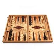 Manopoulos - Olive Burl Backgammon 48cm x 30cm