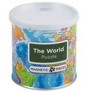 Geotoys - Magnetic Puzzle World Map 100pce