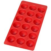 Lekue - Round Ice Cube Tray Red