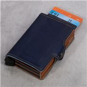 Secrid - Indigo Leather Twin Wallet