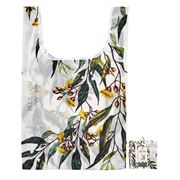 Ashdene - Tote Bag Reusable Aust. Floral Emblems Blue Gum