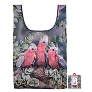 Ashdene - Tote Bag Reusable Australian Bird & Flora Galah