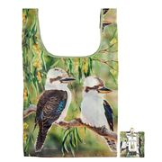 Ashdene - Tote Bag Reusable Aust. Bird & Flora Kookaburra