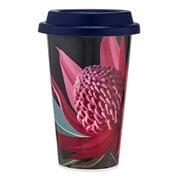 Ashdene - Native Grace Waratah Double Walled Travel Mug