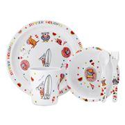 Ashdene - Barney Gumnut Kids Summer Holidays Dinner Set 5pce