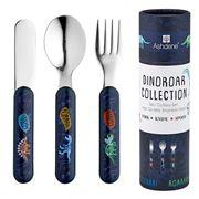 Ashdene - Kids Cutlery Set  Dinoroar 3pce