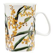 Ashdene - Australian Floral Emblems Golden Wattle Can Mug