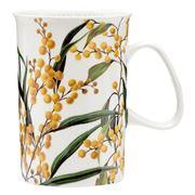 Ashdene - Australian Floral Emblems Golden Wattle Can Mug