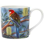 Ashdene - Australian Bird & Flora Rosella & Banksia Mug