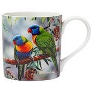 Ashdene - Australian Bird & Flora Lorikeet & Bottlebrush Mug