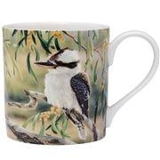 Ashdene - Australian Bird & Flora Kookaburra & Wattle Mug