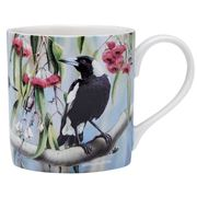 Ashdene - Australian Bird & Flora Magpie and Red Gum Mug