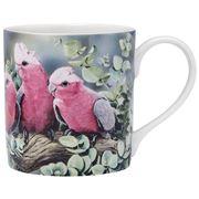 Ashdene - Australian Bird & Flora Galah and Eucalyptus Mug