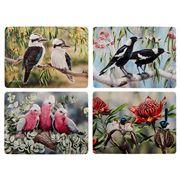 Ashdene - Australian Bird & Flora Placemat Set 4pce