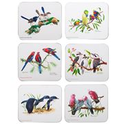 Ashdene - Birds of Australia Coaster Set 6pce