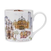 Ashdene - Cityscapes City Mug Melbourne