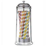 Davis & Waddell - Glass Straw Dispenser & Straws