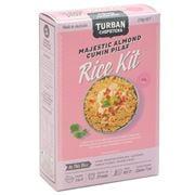 Turban Chopsticks - Majestic Almond Cumin Pilaf Kit 3pce230g