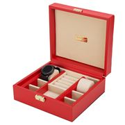 Renzo - Jewellery Case Red