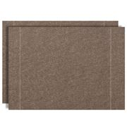 Day Drap - Placemat  Set Marron Oscuro 2pce 46.5x32.5cm